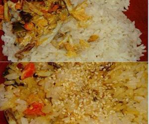 制作 蟹肉/3、寿司饭的制作这里就省略了,请参照以前的日志。
